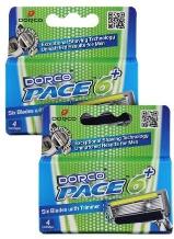 Dorco Pace6 Plus Catridges Men 4s