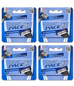 Dorco Pace3 Catridges Men 4s