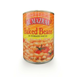 Al Mazraa Baked Beans In Tomato Sauce 220g