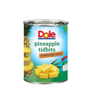 Dole Pineapple Tidbits Extra Light Syrup 560g
