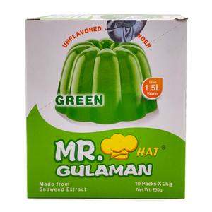 Mr.Gulaman Jelly Dry Green 25g