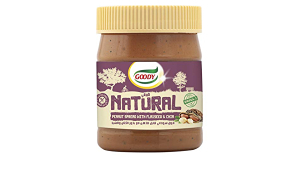 Goody Nat Peanut Butter With Flax 340g