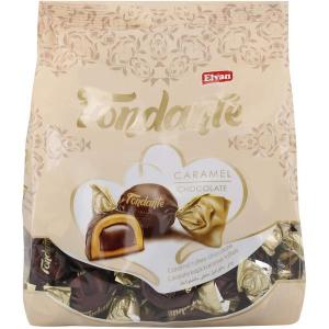 Elvan Chocolate Fondante Caramel Bag 500g