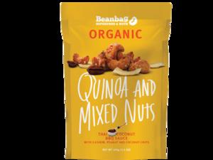 Beanbag Organic Quinoa & Mixed Nuts 30g