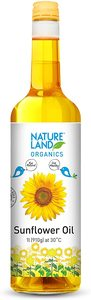 Nature Land Organic Sunflower Oil 750ml