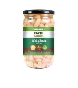 Earth Goods White Beans In Brine 345g