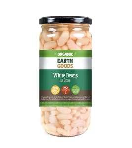 Earth Goods White Beans In Brine 540g