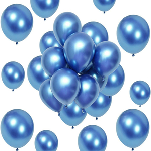 Mabelle balloons With Stick 12pcs