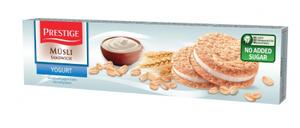 Prestige Musli Sandwich Yoghurt Biscuit 92g