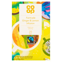 Co-Op Ginger Lemon Honey Spoon 7g