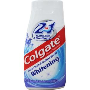 Colgate Liquid 2-In-1 White 130g