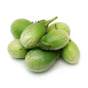 Eggplant Baby Green 500g