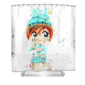 Electra Shower Curtain Rod 140x260cm 1pc