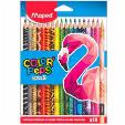 Maped Color Peps Pencils 18 Color 1pc