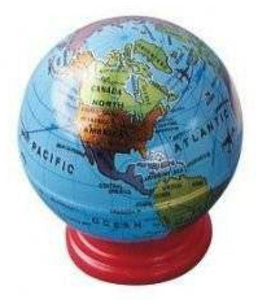 Maped Sharpener 1 Hole Globe 1pc
