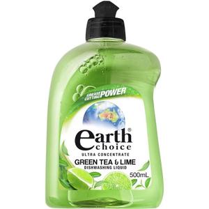 Earth Choice Dishwash Green Tea & Lime 1pc