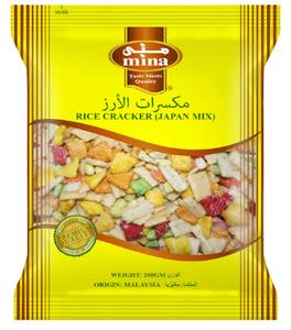 Mina Rice Cracker (Japani Mix) 200g