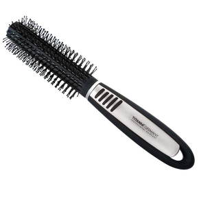 Titania Pneumatic Brush Black Silver 1pc