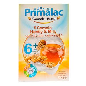 Primalac 5 Cereal Honey & Milk 250g