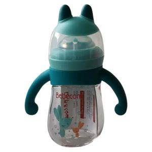 Bebecom Animal Shape Decorated Glass Bottle 1pc