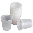 Hotpack Plastic Clear Cup 50pcs