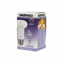 Daewoo Led Bulb 8W E27 Warm White 1pc