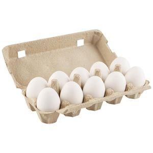 Khanza Fresh White Eggs Pack 15pcs