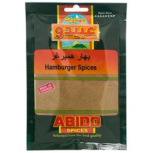 Abido Hamburger Spices 50g