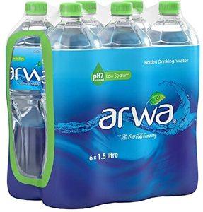 Arwa Low Sodium Water 6x1.5l