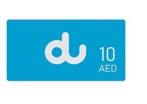 Du Recharge AED 10 1pc