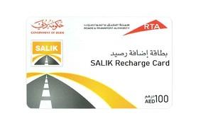 Salik Voucher AED 100 1pc
