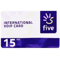 Five Voucher AED 15 1pc