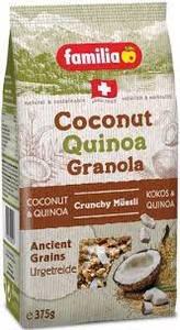 Familia Museli Coconut Quinoa Granola 375g