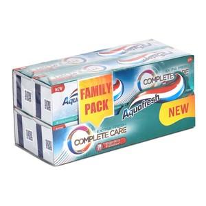 Aquafresh Intense Clean Interdental Toothpaste 4x100ml