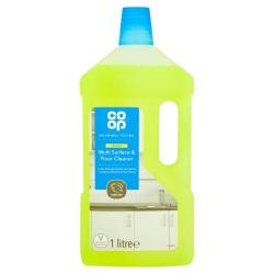 Co-Op Surface Disinfectant Cleaner Lemon 700ml