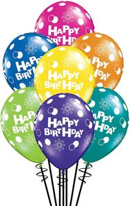 Sunny Baloons Happy Bithay 1pc