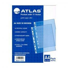 Atlas Pocket Glass Clear 20s