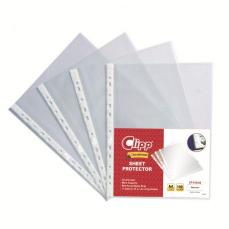 Clipp Class Clear Pocket A4 1pc