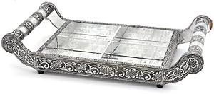 Al Hoora Fruit Tray Silver 1pc