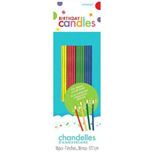Amscan Candle Birthday Sparkling 1pc