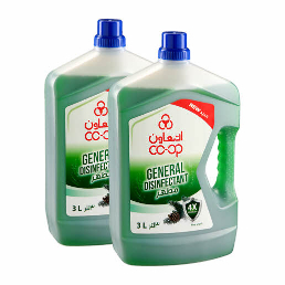 Co-Op Amber General Disnfectant Cleaner 2x3L