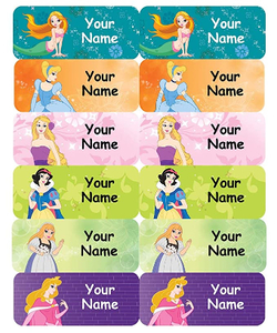 Smile Name Labels 5 Sheets Assorted 1pc