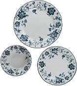 Claytan Anemone Dark Blue Chop Plate 1pc