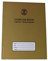 Sadaf Excersice Book With Hard Cover 1pc