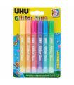 Uhu Glitter Gule 1pc