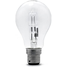 Ge Glass Halogen Lamp Clear 1pc