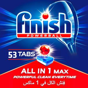 Finish Dishwashing Tablets 4x53pc