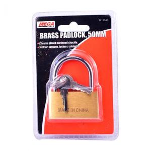 Mega Brass Padlock 1pc