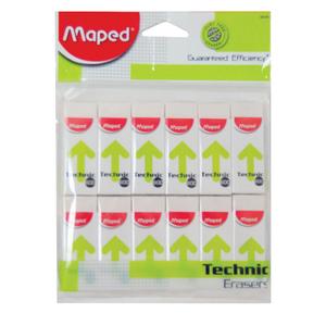 Maped Technic 600- Eraser - MDP-VP-085 12pcs