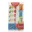 Maped Eraser Technical + Vivo Sharpener 1set